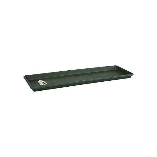 Elho Green Basics Balconnière Soucoupe 40 - Leaf Green - Extérieur & Balcon - Ø 37.3 x H 2.4 cm