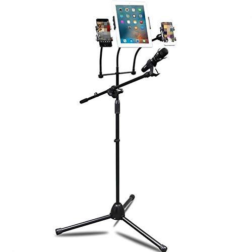 zwaardere anti-vliegtuig tarwe trapte op podium microfoon stand microfoon stand statief vloer stand