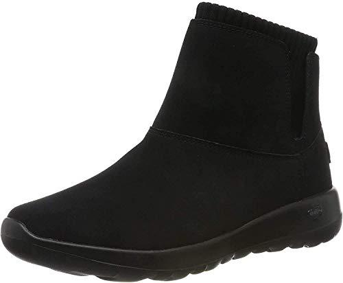 Skechers On-the-go Joy, Damen Kurzschaft Stiefel, (Black/Gray Suede/Textile Bkgy), 38 EU (5 UK)