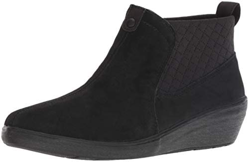 Grasshoppers Women s Porter Boot Suede Mule Black 9 M US product image