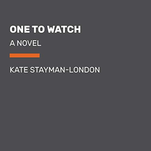 One to Watch audiobook cover art