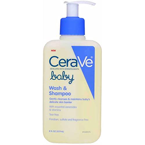 CeraVe Baby Wash & Shampoo - 8 oz, Pack of 5
