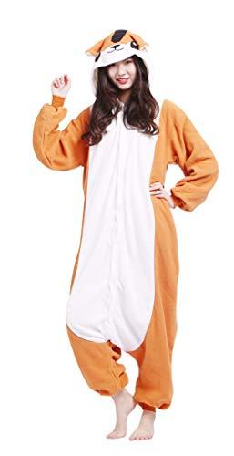 Pijama Onesie Adultos Mujer Cosplay Animal Disfraces Halloween Carnaval Cosume Hámster M