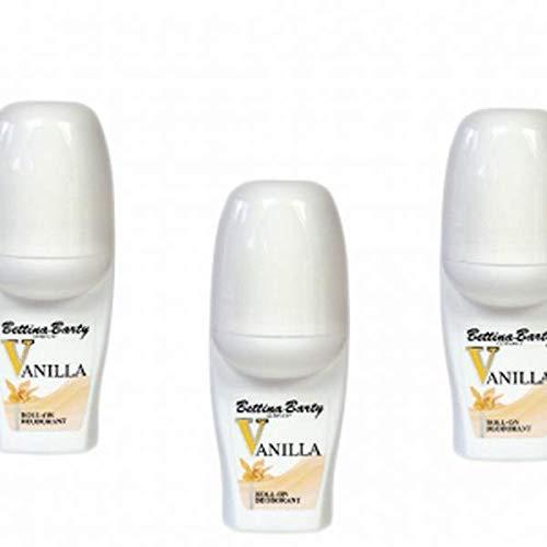 Bettina Barty Vanilla Deodorant 3 x 50 ml