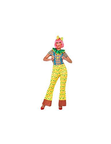 DISBACANAL Disfraz Payaso Mujer - -, L
