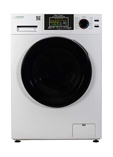 Equator 18 lbs Combination Washer Dryer - Sanitize, Allergen, Winterize,Vented/Ventless Dry- 2021 Model (White)