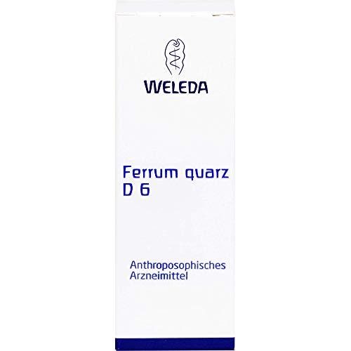 WELEDA Ferrum-Quarz D6 Verreibung, 20 g Pulver