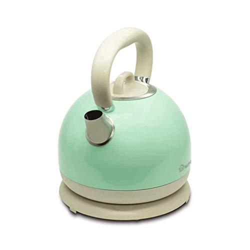 MQJ Te-pannor-kokplatta tekanna rostfritt stål, elektrisk vattenkokare 1,7 l rostfritt stål trådlös koksaltlösning Otter Tat-kontroll
