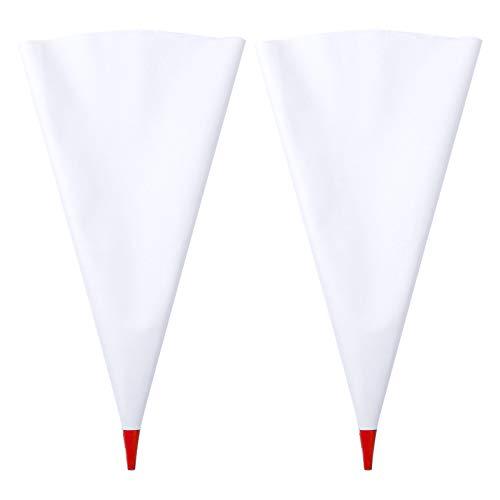 iiniim 2 Piezas Bolsa para Lechada Bolsas de Mortero Bolsas de Cemento para Azulejos Mortero Mampostería Lechada Herramientas Rojo OneSize