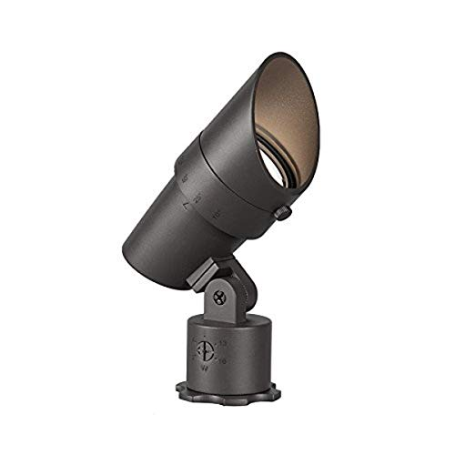 WAC Lighting 5011-30BZ WAC LED 12V Accent Light Adjustable Beam and Output 3000K Soft White Pure, Bronze on Aluminum