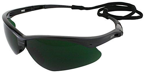"Jackson Safety 25671 Nemesis Shade 5.0 Safety Glasses Black, 10"" x 7"" x 4"""