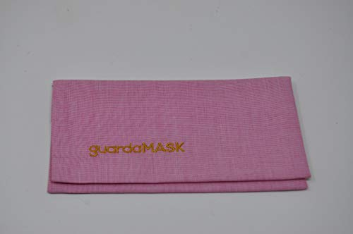Bolsa higiénica esterilizante reutilizable para mascarillas (rosa oscuro)