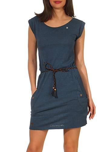 Ragwear Damen Tag Jerseykleid blau M