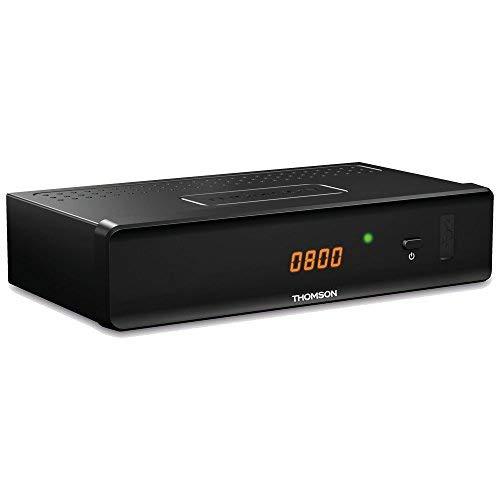 THOMSON THC301 HD Receiver für digitales Kabelfernsehen DVB-C Full HD (HDTV, HDMI, SCART, USB, Mediaplayer) schwarz, 3 Jahre Garantie