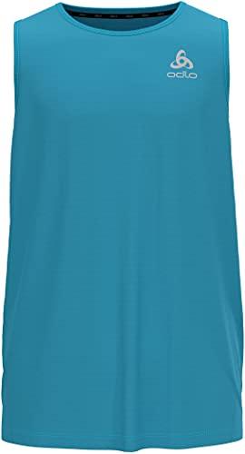 Odlo Essential - Maglietta Intima da Uomo Blu di Mykonos XL