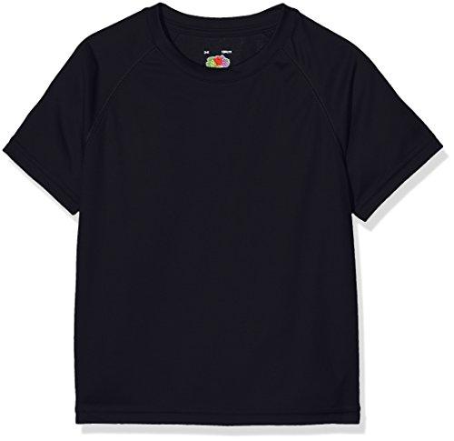 Fruit of the Loom Performance Camiseta, Azul (Deep Navy), 5-6 Años (Talla...