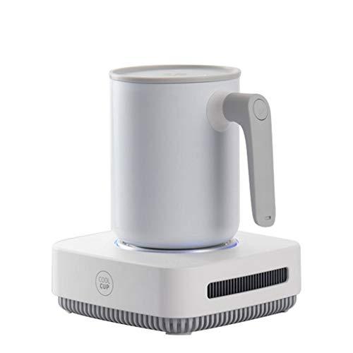 EMOOJOO Refroidisseurs de Tasse thermostatiques électroniques, pour la bière glacée, Le vin, Les Boissons, Portable, Mini-réfrigérateur, Refroidissement Rapide, pour la Maison et en déplacement