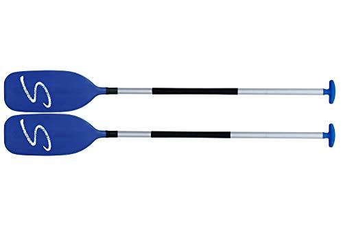 Schlegel Pagaia combinata Whitewater, Doppia pagaia Che può Essere utilizzata Anche Come 2 Canoe. Made in Germany da Kutech, 230cmSchränkung 45°