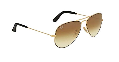 Ray-Ban Rb 3025 Gafas de sol, Dorado (Gold), 58 mm Unisex Adulto