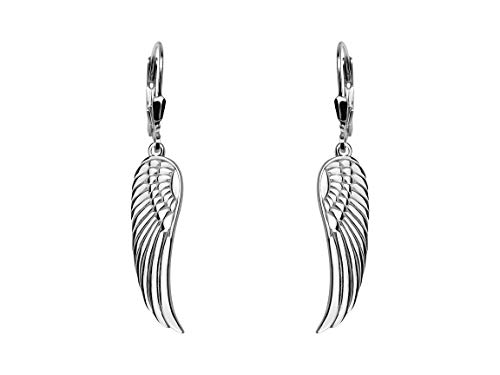 SOFIA MILANI Damen-Ohrhänger Engel Flügel 925 Silber 20495