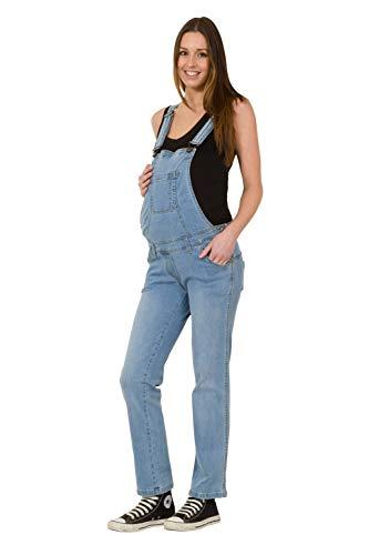 Wash Clothing Company Salopette de grossesse en denim - Bleu - 44