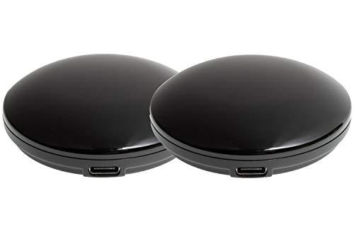 [BamBam] スマートリモコン 2個セット Alexa 対応 スマホや声で家電を操作 Amazon アレクサ Google HOME 音声コントロール 対応 タイマー機能 WiFi 2.4GHz 日本語取扱説明書付き スマートホームコントローラー