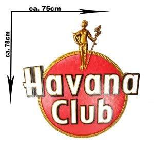 Havana Club 3D Schild Werbeschild Werbetafel Reklame Rum Bar Gastronomie - ca. 75 x 78cm