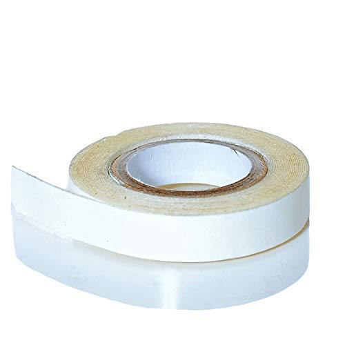 Klebeband Ersatztape für Tape Extensions | Neuste Klebekraft Formel | Doppelseitige Kleberolle Transparent - 1 Rolle