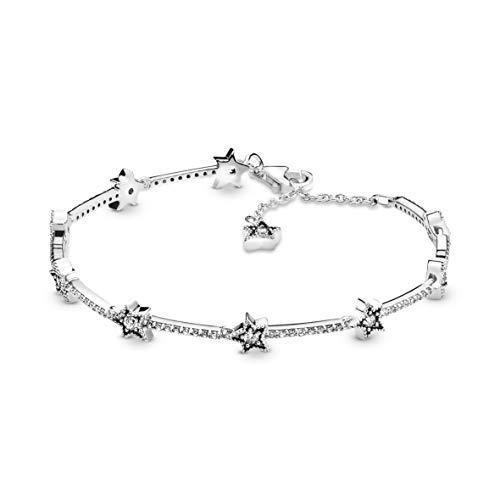 PANDORA Celestial Stars 925 Sterling Silver Bracelet