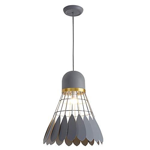 ZQY creatieve plafondlamp voor café, restaurant, badmintonkamer, ijzer, smeedijzer, verlichting