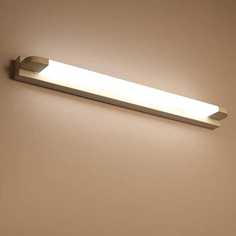 Spiegellampen,LED-Spiegelscheinwerfer modernes minimalistisches Bad im nordischen Stil Badezimmerspiegelschrankwandlampen,46 cm,warmweiwei
