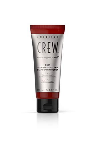 AMERICAN CREW 2-In-1 Skin Moisturizer and Beard Conditioner, 3.3 Fl Oz