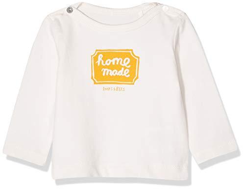 Imps & Elfs U T-Shirt Long Sleeve, Écru (Antique White P331), 62 Mixte bébé