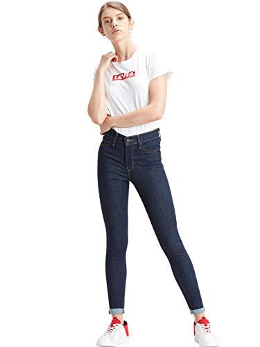 Levis® Damen Jeans 310 Shaping Super Skinny Fit - Blau - Deep Serenity W25-W34 76% Baumwolle Denim, Größe:W 25 L 28, Farbvariante:Deep Serenity (054)