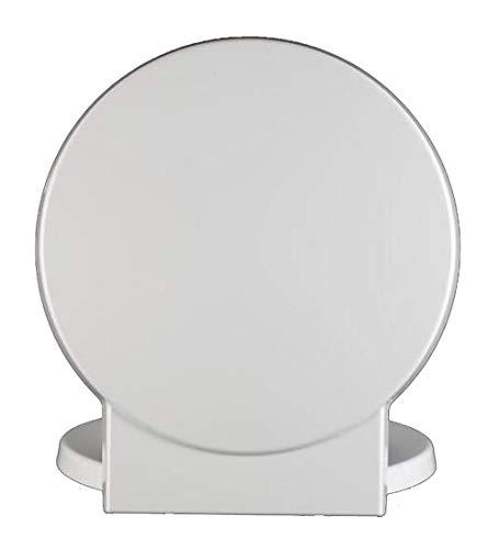 LDFN-toilet lid Coperchio del Water Vecchio Stile Forma Rotonda Rallenta Addensare Muto Copriwater Scopo Generale WC,A
