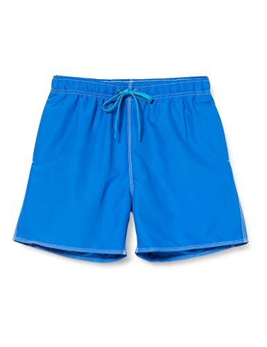 ARENA Herren Badehose Boxer Fundamentals Solid Badeshort, royal-Turquoise, M