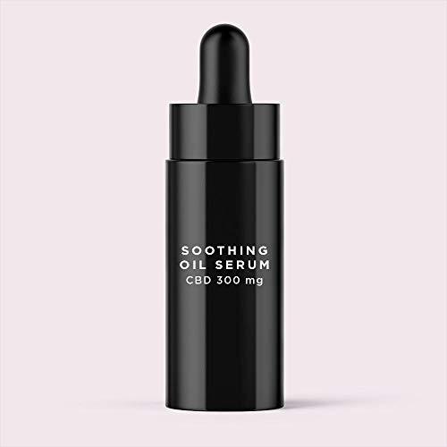 MIKKA Soothing Oil Serum Ð Natural Oil Based, CBD Enriched Moisturising Serum Ð Contains Argan, Jojoba & Buriti Oil, Vitamin A & E Ð 30ml