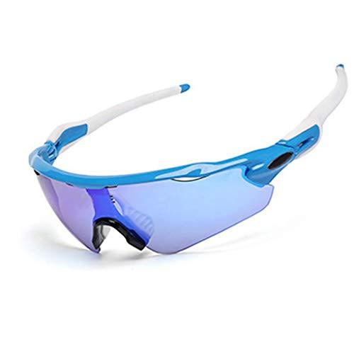 Lesrly-Cycle Radar EV Gafas de Sol polarizadas, Gafas Ciclismo Deportivo con 5...