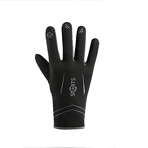 Guantes cálidos, guantes de pantalla táctil, pesca al aire libre, conducción, equitación, guantes deportivos, guantes impermeables, guantes antideslizantes, el mismo estilo para hombres y mujeres