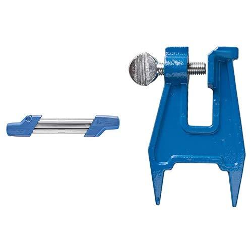 PFERD Kettensägeschärfgerät Chain Sharp CS-X, Feilen-ø 4,8 mm, 11098048 – Sägezahn und Tiefenbegrenzer in einem Arbeitsgang bearbeiten Feilbock, 18301038