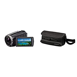Sony HDR-CX625 Full HD Compact Camcorder + Ultra Compact Case for Handycam - Black (B07JXTZY9V) | Amazon price tracker / tracking, Amazon price history charts, Amazon price watches, Amazon price drop alerts