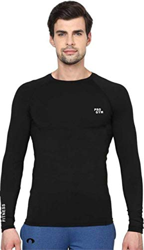 Pro Gym Men Stretchable Gym and Sports Wear T-Shirt for...