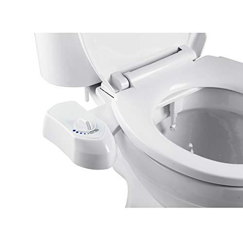 BLKykll WC Bidet,Intimreinigung Mit Selbstreinigende Düsen Wasserstrahl Funktion Ohne Strom Selbstreinigende Düse Po-Dusche Und Ladydusche