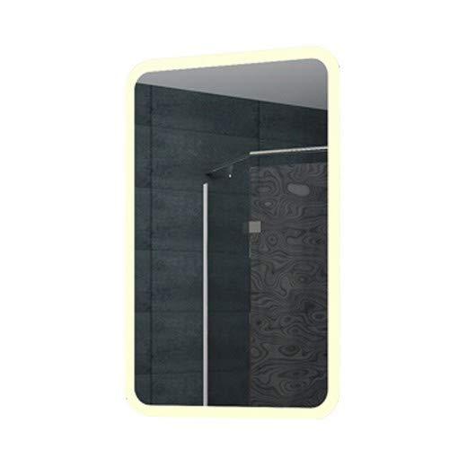 Lux-aqua Diseño LED Cuarto de baño Espejo luz Espejo Espejo de Pared Espejo 40x 60cm