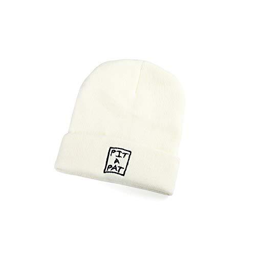 LHTCZZB Rosca de la tapa de otoño e invierno caliente moda de la manera invierno del sombrero del algodón de los hombres de la personalidad con capucha Cap manera del invierno de moda Marca fría Sombr