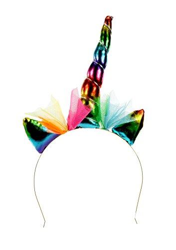 Prijs per steel haarband eenhoorn regenboog | hoofdtooi | regenboogeenhoorn | cadeau-idee voor meisjes | haarband | regenboog | kostuumaccessoires | carnaval | haaraccessoires | hoofdedecoratie | bekleding