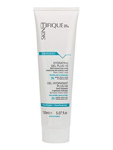 Gel Hydratant Plus HS: Hydrate 24H - Apaise - Répare - Intelligent : comprend les besoins de la peau - Seulement 8 ingrédients - 99% naturel - Très bonne tolérance