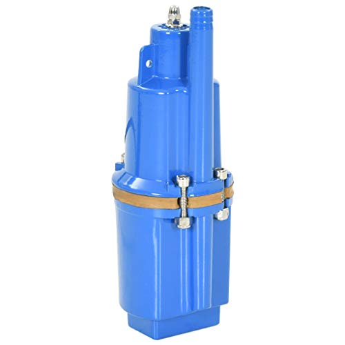 vidaxl Tauchpumpe 1000L/h Brunnenpumpe Brunnen Tief Rohrpumpe Membranpumpe