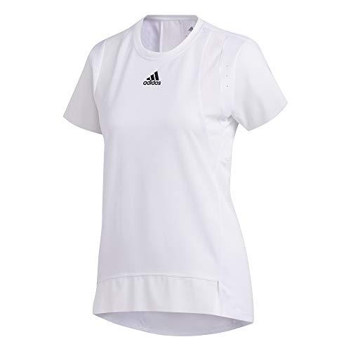 adidas TRNG tee H.RDY Camiseta, Mujer, Blanco, M