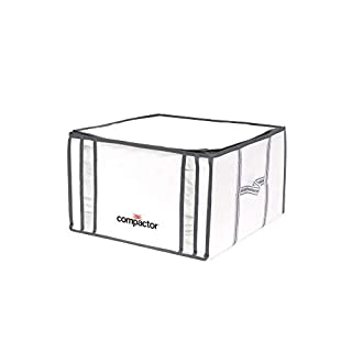 "COMPACTOR Caja de Almacenaje Al Vacío, Talla M, 125 l, Blanco ""Life"", RAN3254 (B001QUL5ZW) 